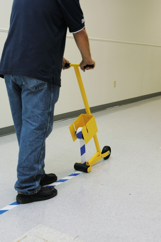 MARKING TAPE FLOOR APPLICATOR