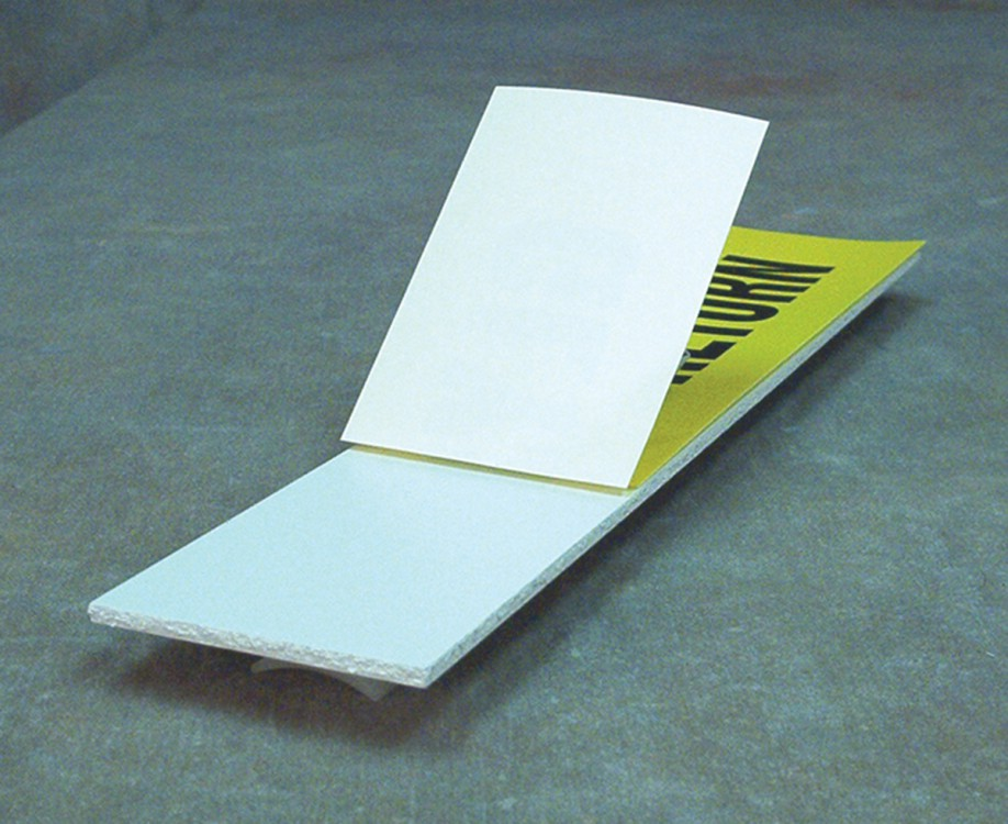 STAND-OFF PIPE MARKER PLATES