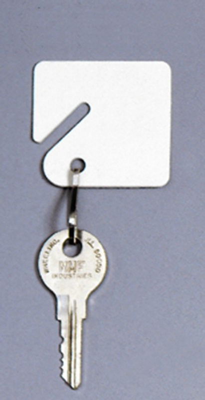 additional key tags for slotted racks