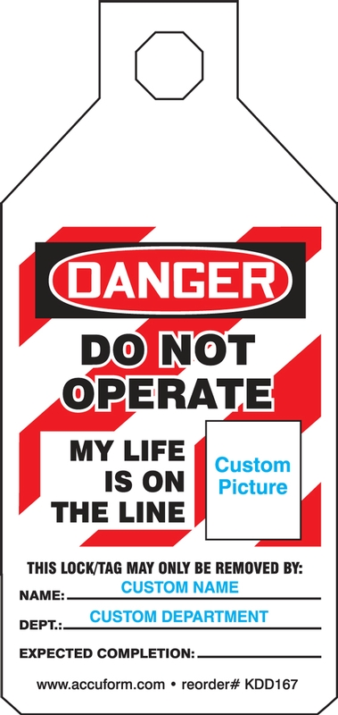 DO NOT OPERATE, MY LIFE IS ON THE LINE...