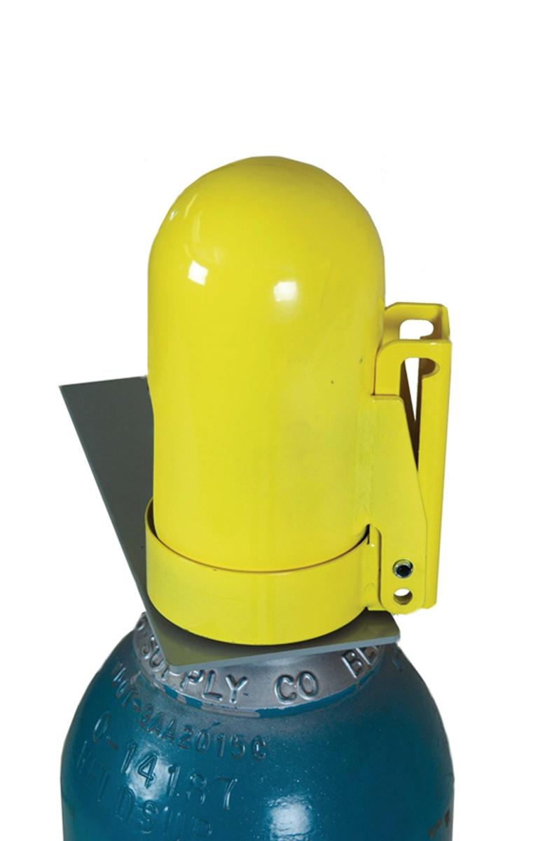 GAS CYLINDER LOCKOUT CAP - HIGH PRESSURE