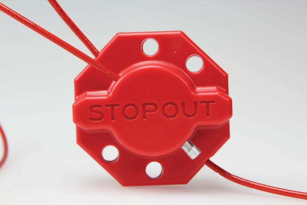 STOPOUT ® Twist 'n Lock Cinch Lockout Hasp