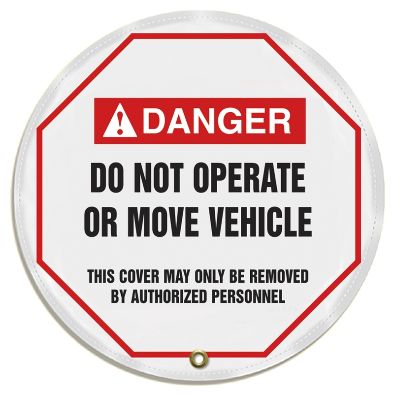 DO NOT OPERATE OR MOVE VEHICLE