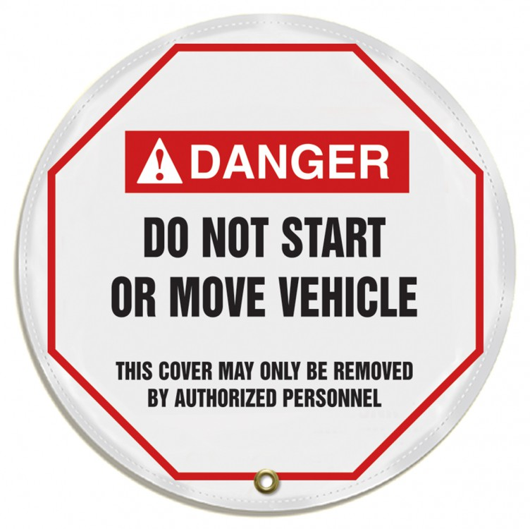 DO NOT START OR MOVE VEHICLE
