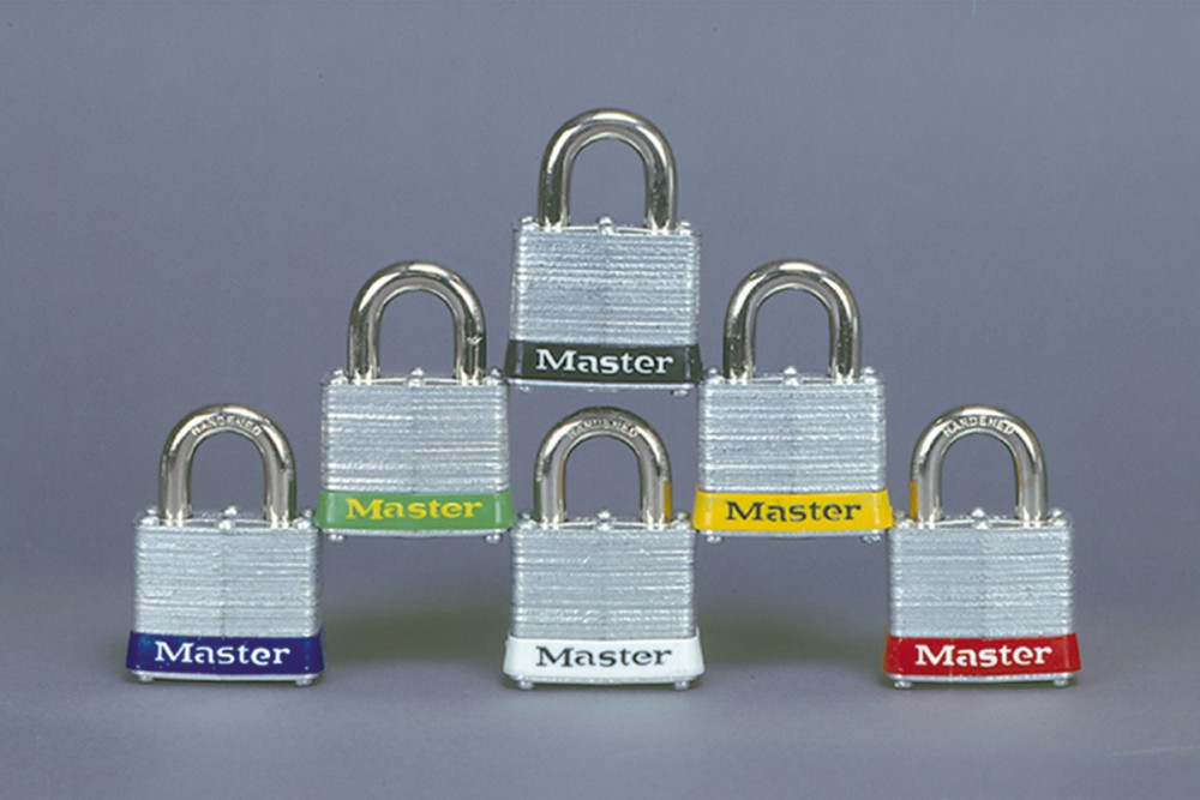 Master Lock™ Steel colored Padlocks