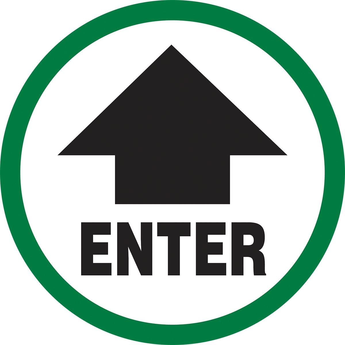 ENTER (W/ARROW)