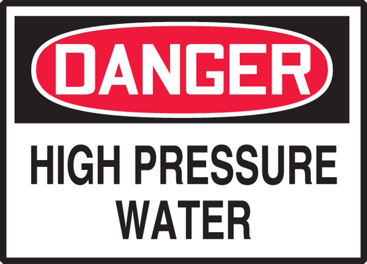 HIGH PRESSURE WATER