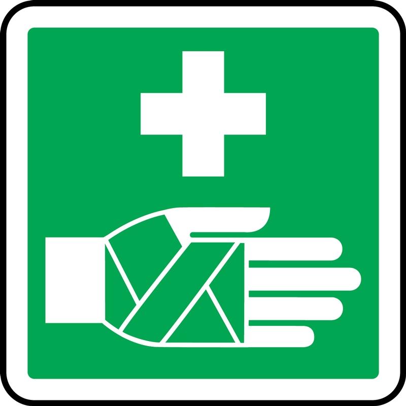csa symbol first aid pictogram label
