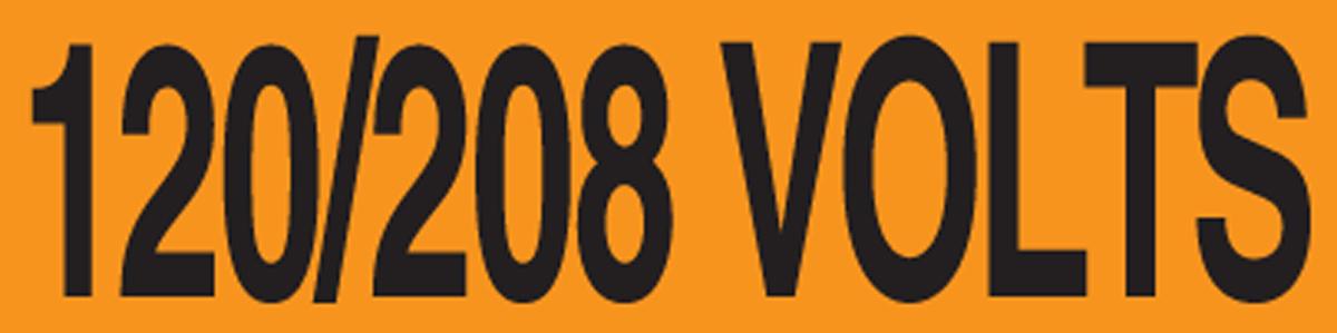 120/208 VOLTS