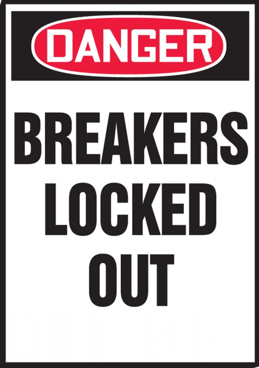BREAKERS LOCKED OUT