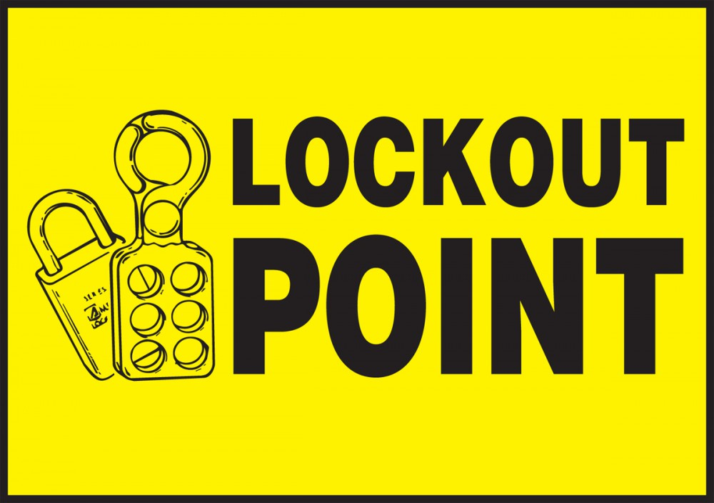 LOCKOUT POINT (W/GRAPHIC)
