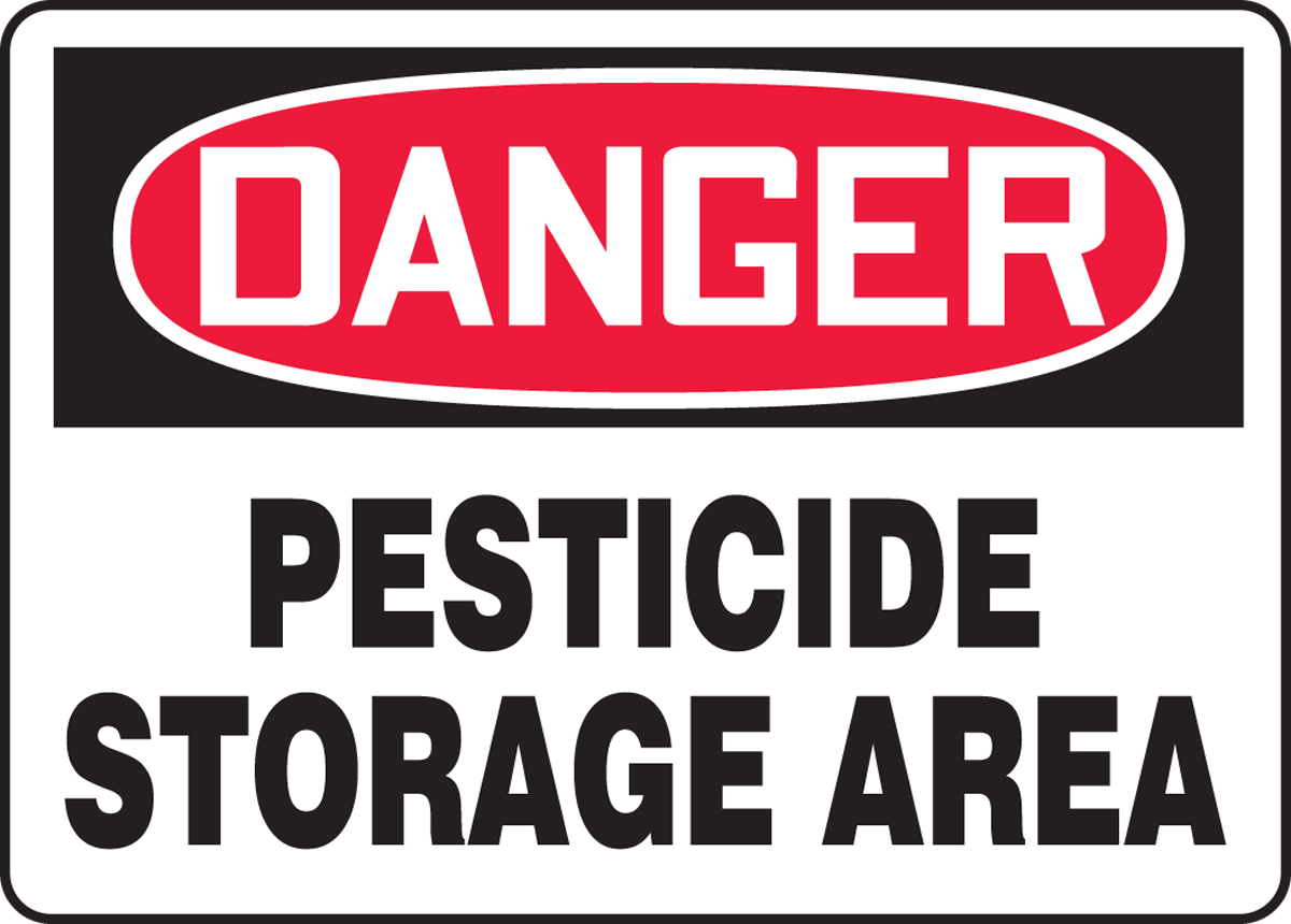 PESTICIDE STORAGE AREA