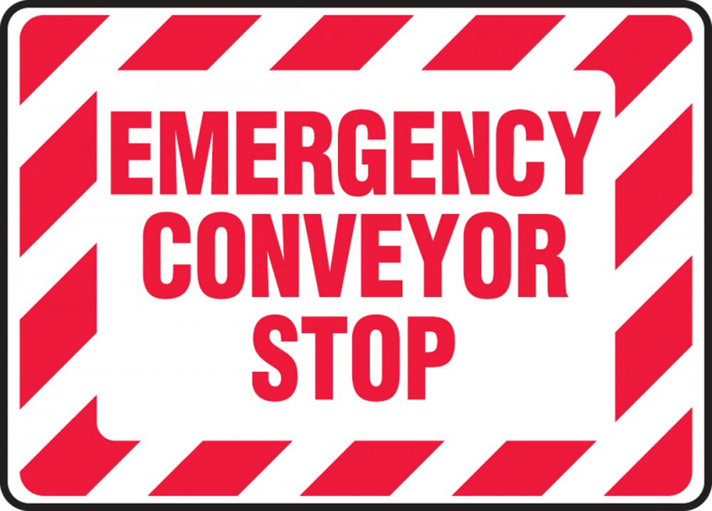 EMERGENCY CONVEYOR STOP