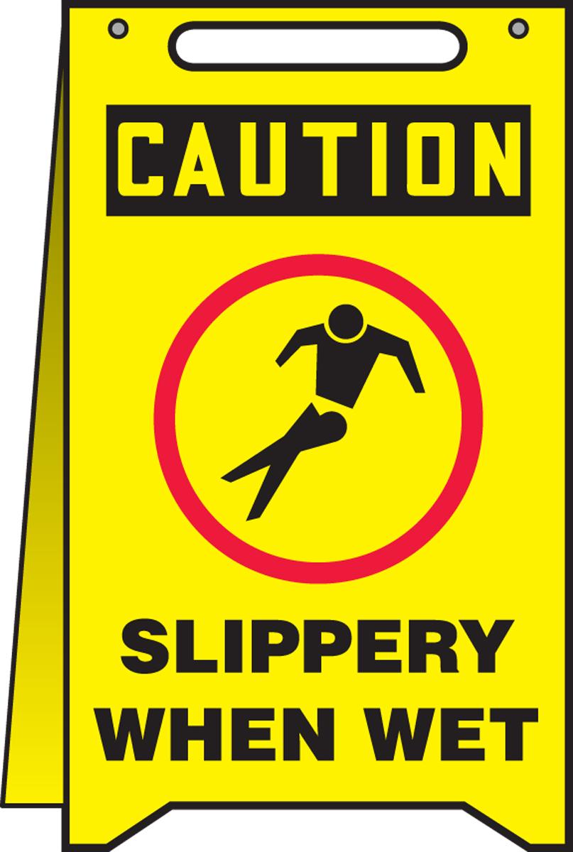 SLIPPERY WHEN WET W/GRAPHIC