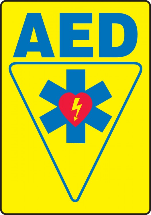 AED (W/GRAPHIC)