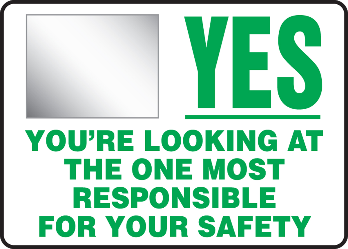 YES YOU'RE LOOKING AT THE ONE MOST RESPONSIBLE FOR YOUR SAFETY (W/GRAPHIC)