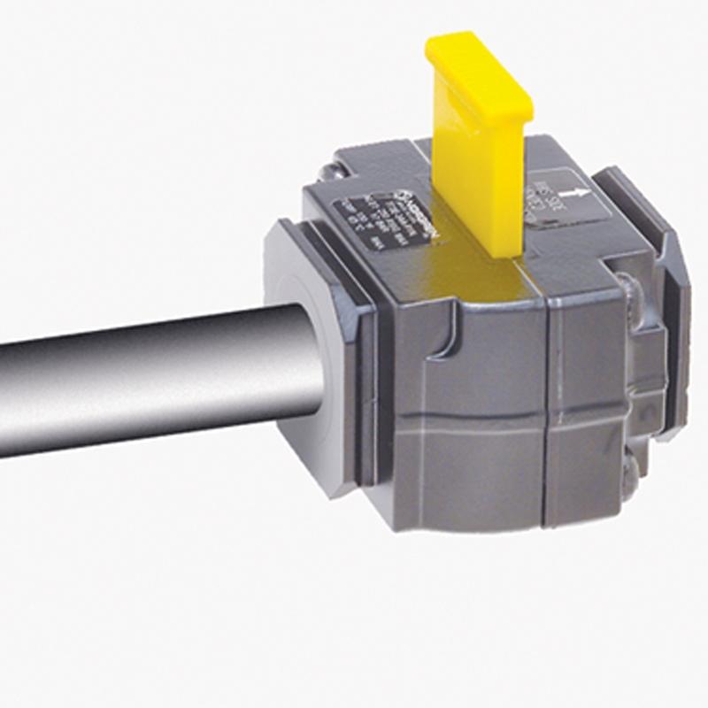 pneumatic lockout valve