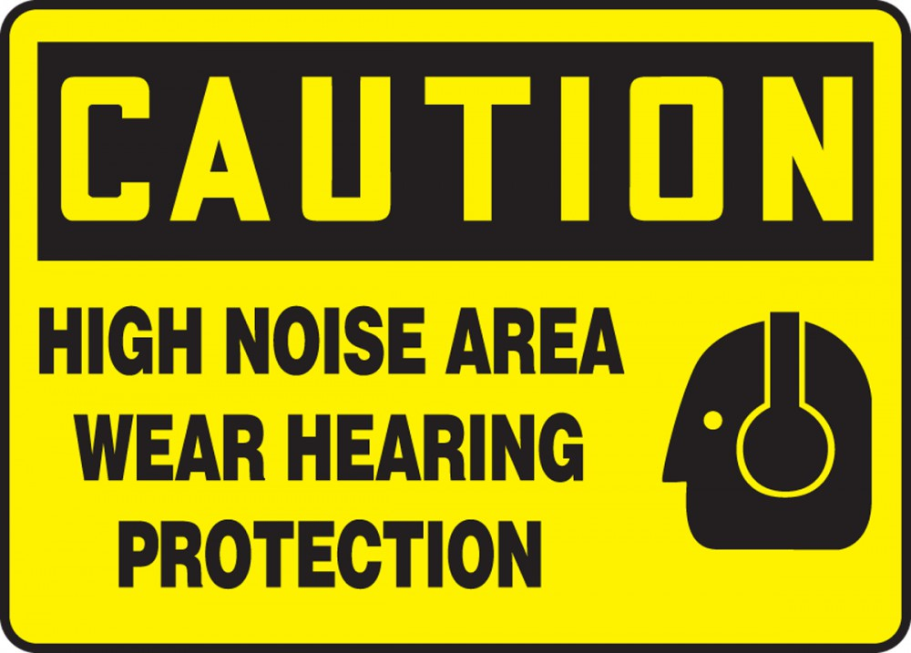 HIGH NOISE AREA WEAR HEARING PROTECTION (W/GRAPHIC)