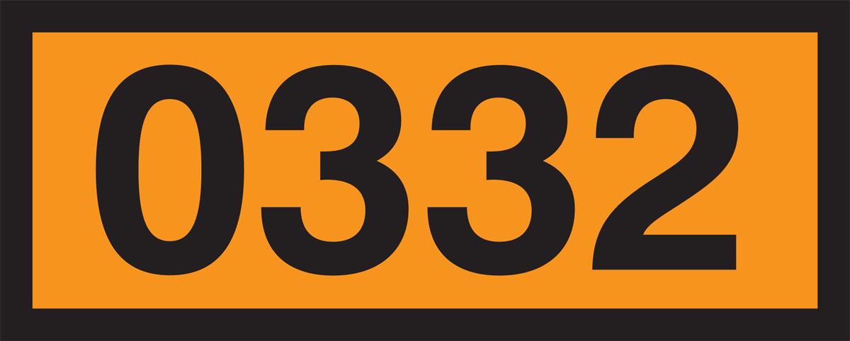 0332 (EXPLOSIVES, BLASTING, TYPE B)