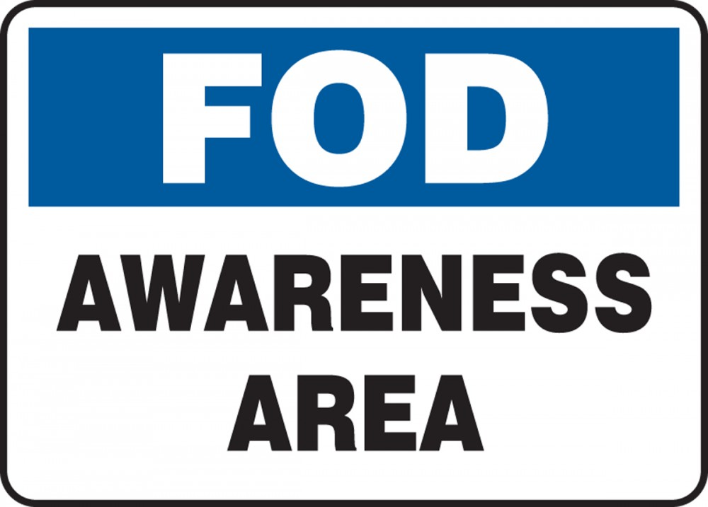 FOD AWARENESS AREA