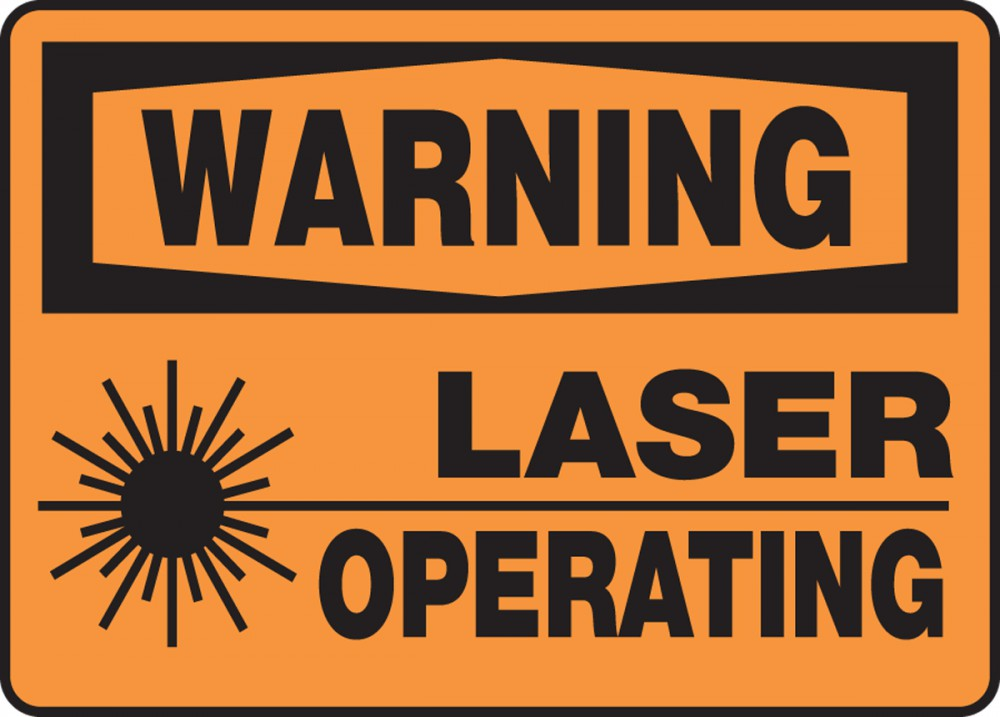 LASER OPERATING (W/GRAPHIC)