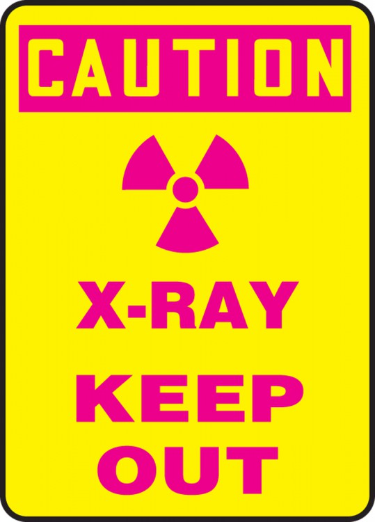 X-RAY KEEP OUT (W/GRAPHIC)
