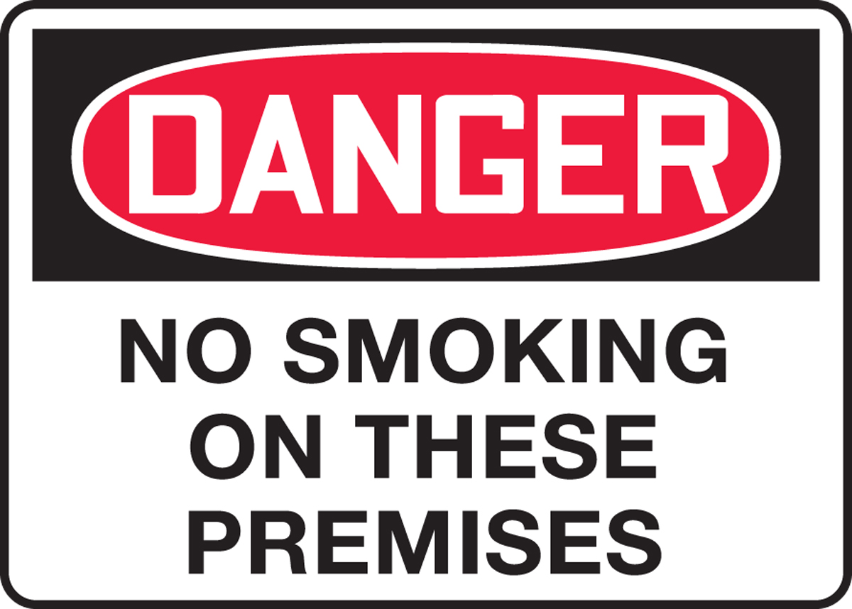 NO SMOKING ON THESE PREMISES