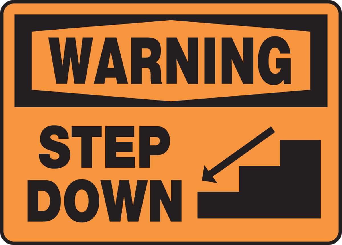 STEP DOWN (W/GRAPHIC)
