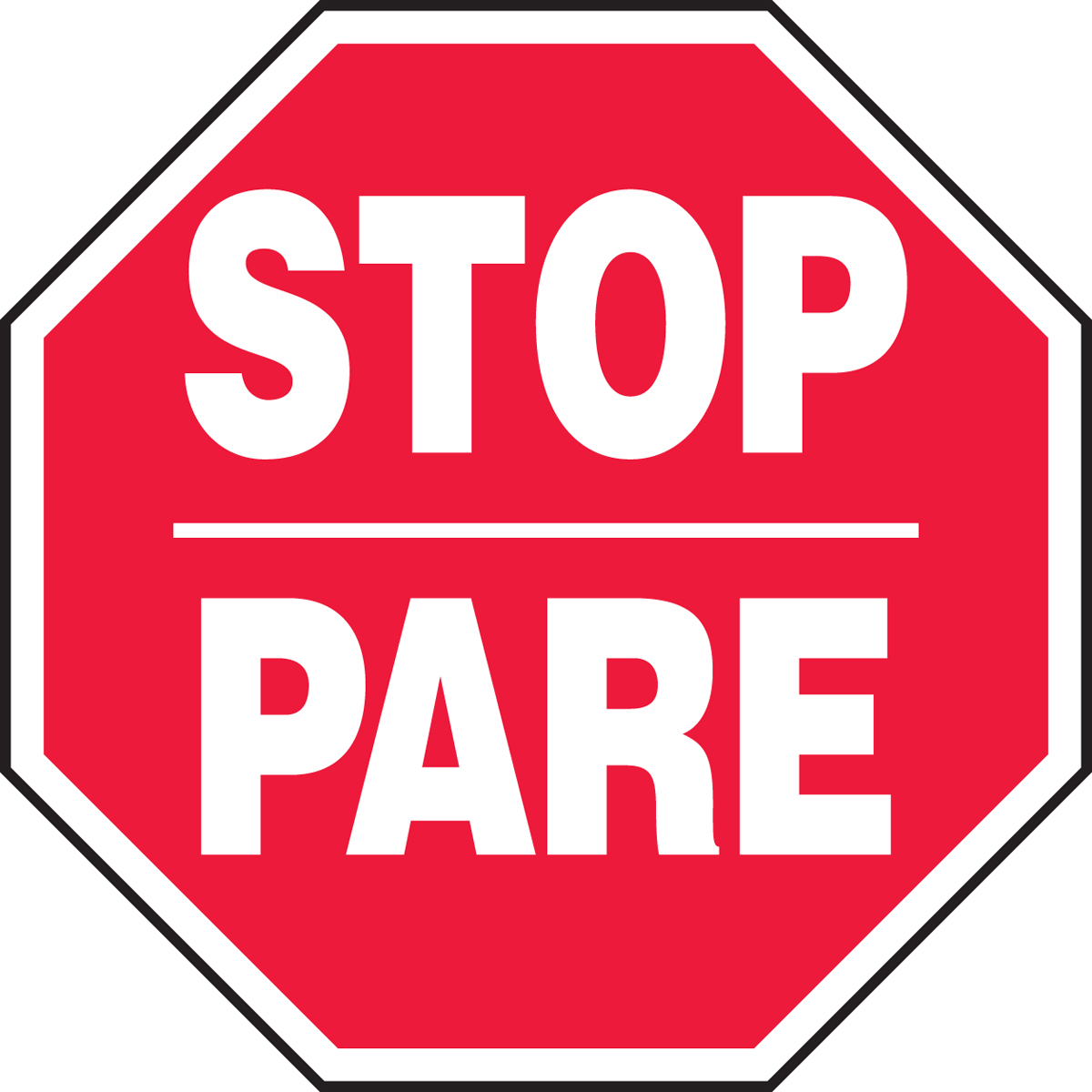 STOP / PARE