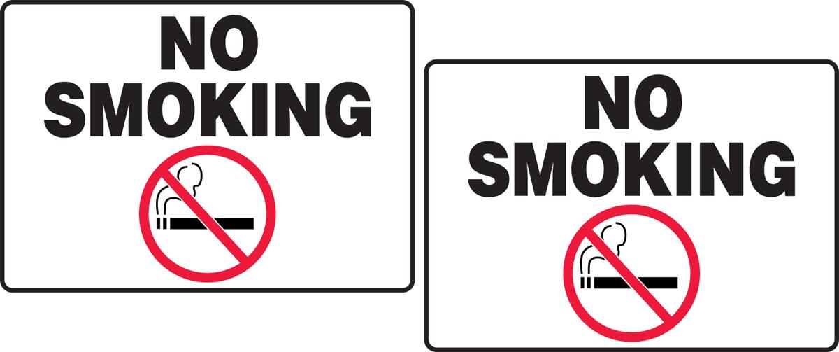 NO SMOKING W/ GRAPHIC
