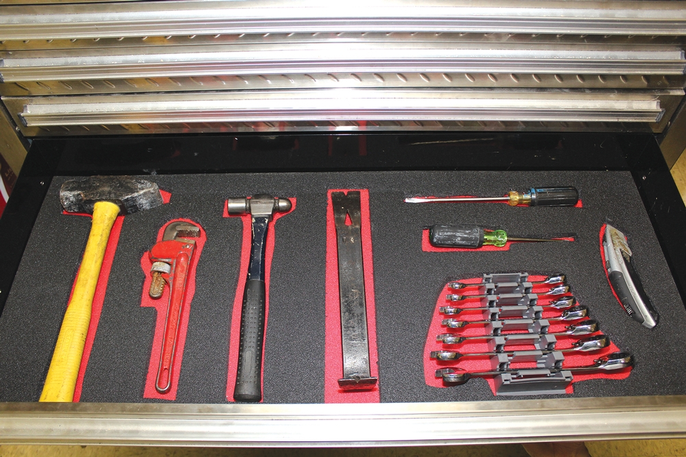 Store-Drawers™ Foam Tool Organizer: Create Your Own