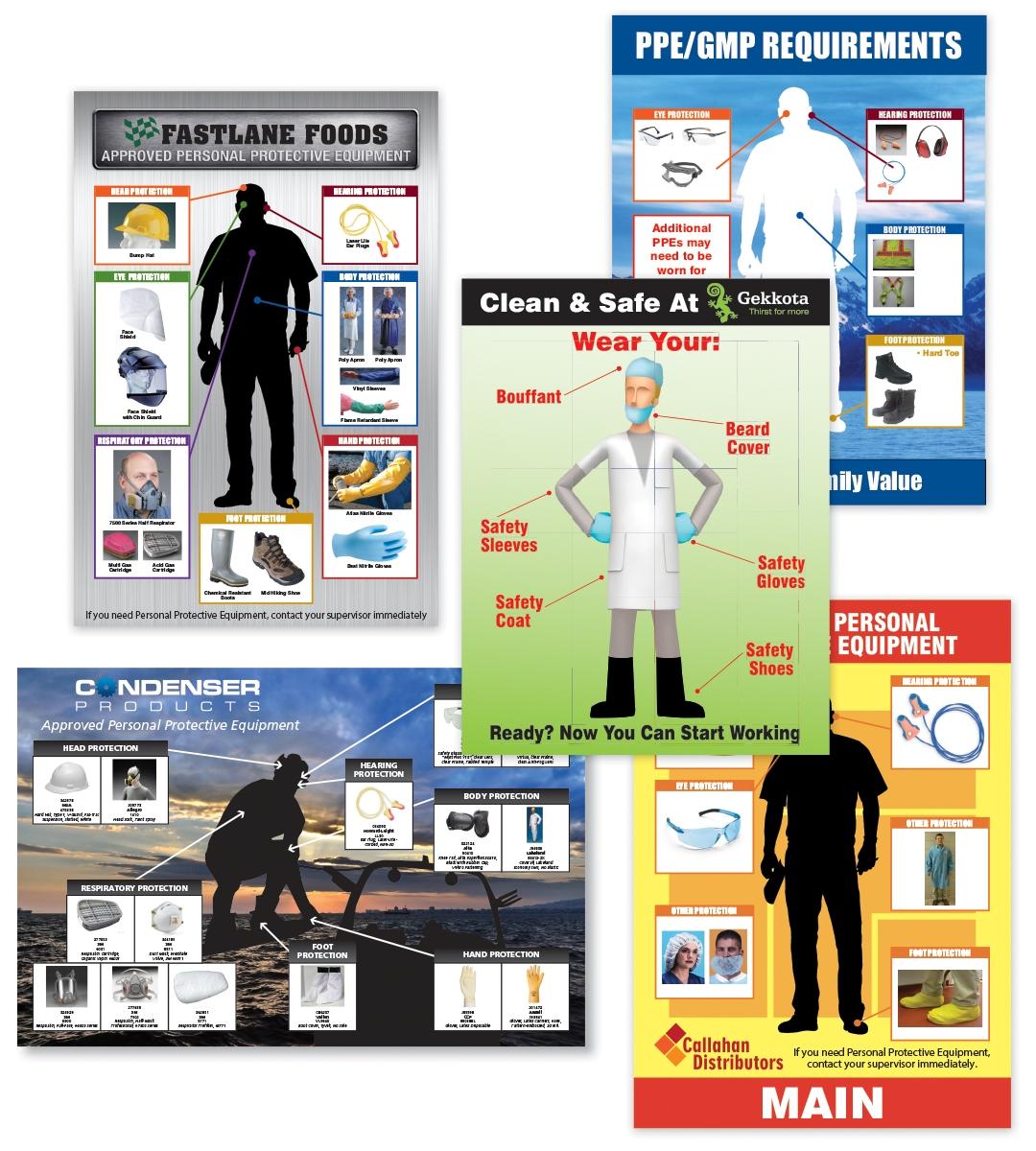 CUSTOM PPE-ID™ CHARTS