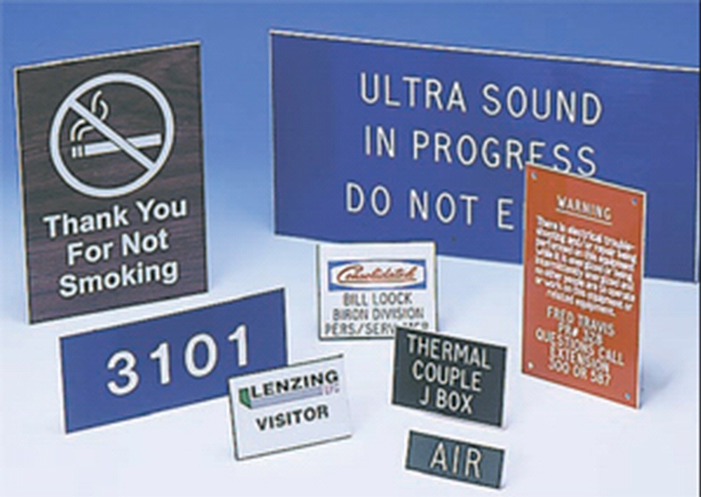 CUSTOM ENGRAVED ACCU-PLY™ SIGN