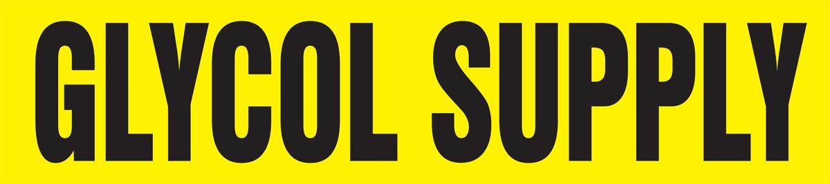 GLYCOL SUPPLY