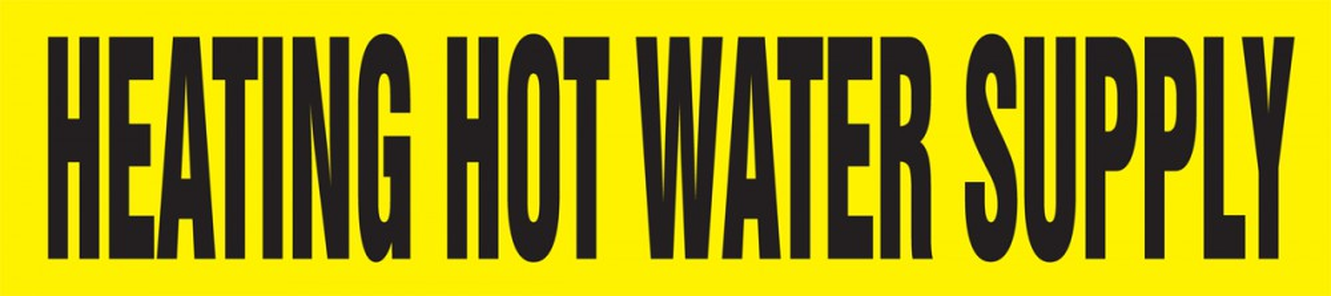 HEATING HOT WATER SUPPLY