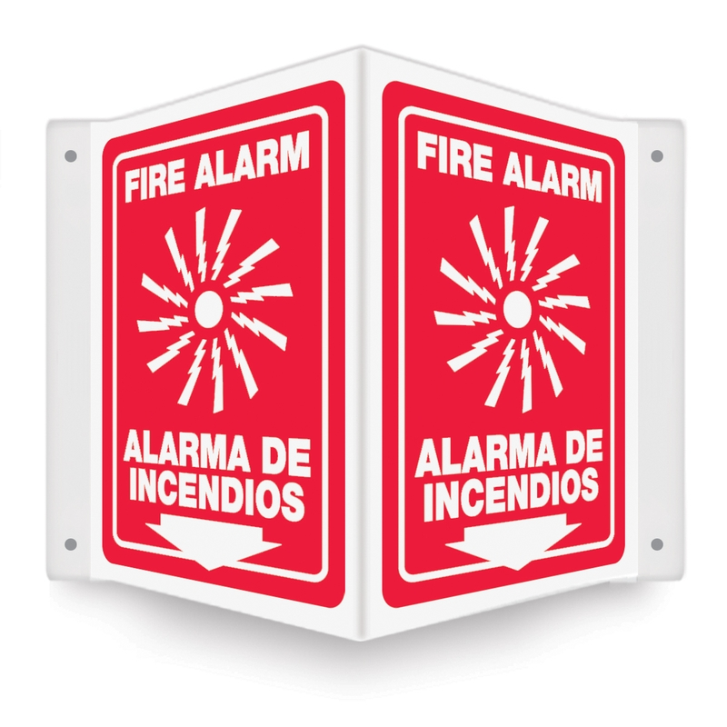 FIRE ALARM <BR><I>Bilingual - Spanish</I>