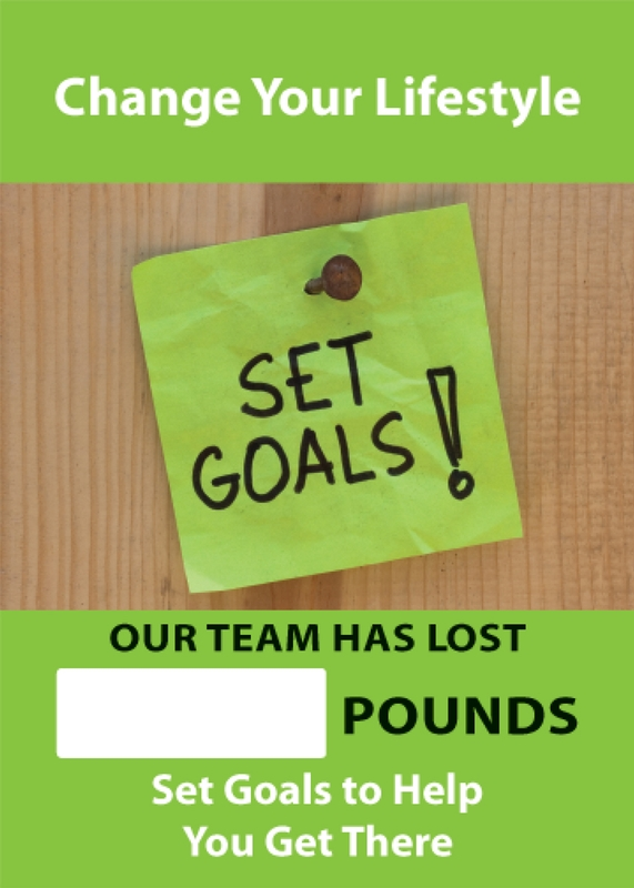 CHANGE YOUR LIFESTYLE SET GOALS! OUR TEAM HAS LOST #### POUNDS SET GOALS TO HELP YOU GET THERE
