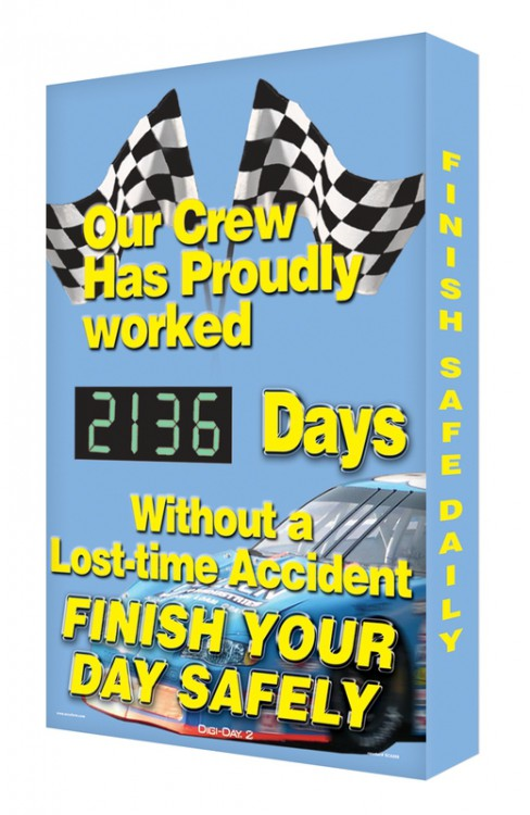 OUR CREW HAS PROUDLY WORKED #### DAYS WITHOUT A LOST-TIME ACCIDENT FINISH YOUR DAY SAFELY
