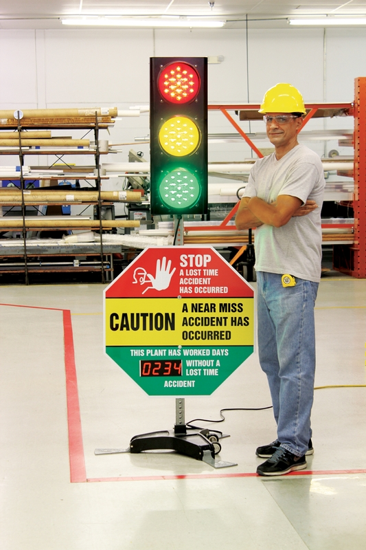 SIGNAL SAFETY AWARENESS CENTER Safety stop light
