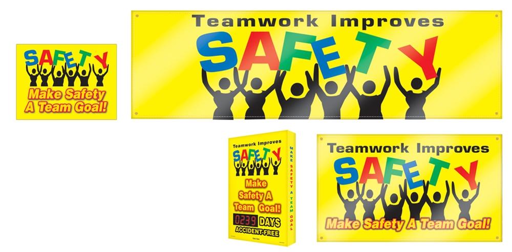 TEAMWORK IMPROVES SAFETY