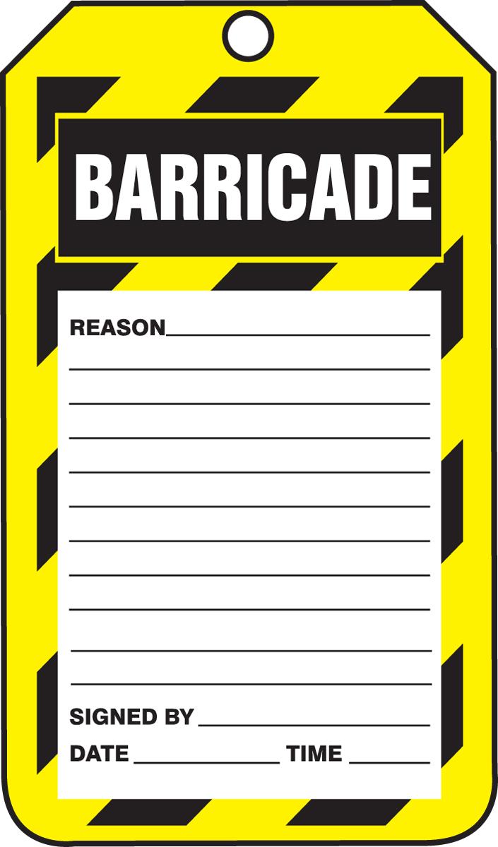 BARRICADE...