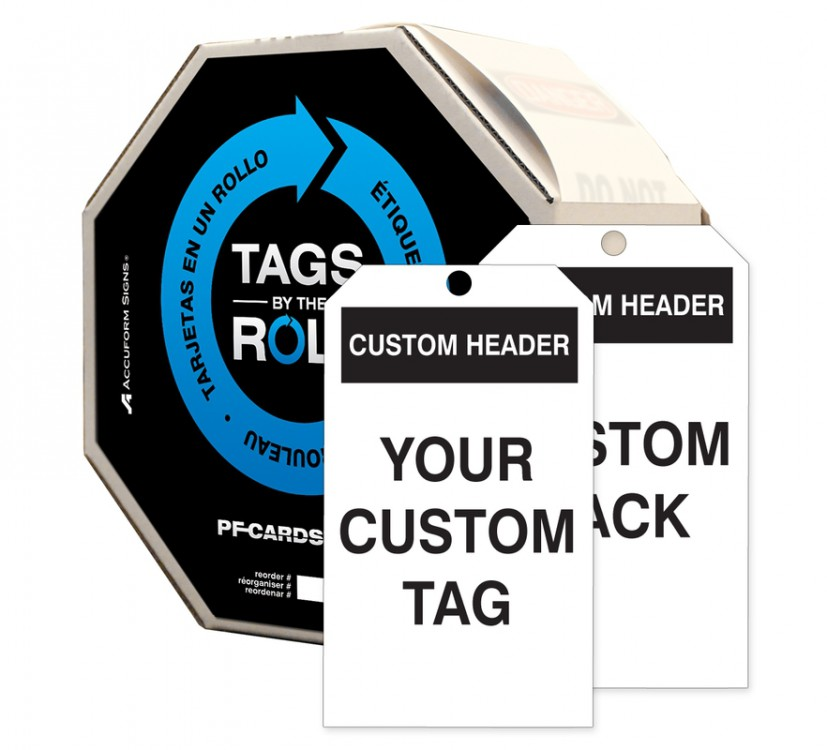 Custom Tags By-The-Roll