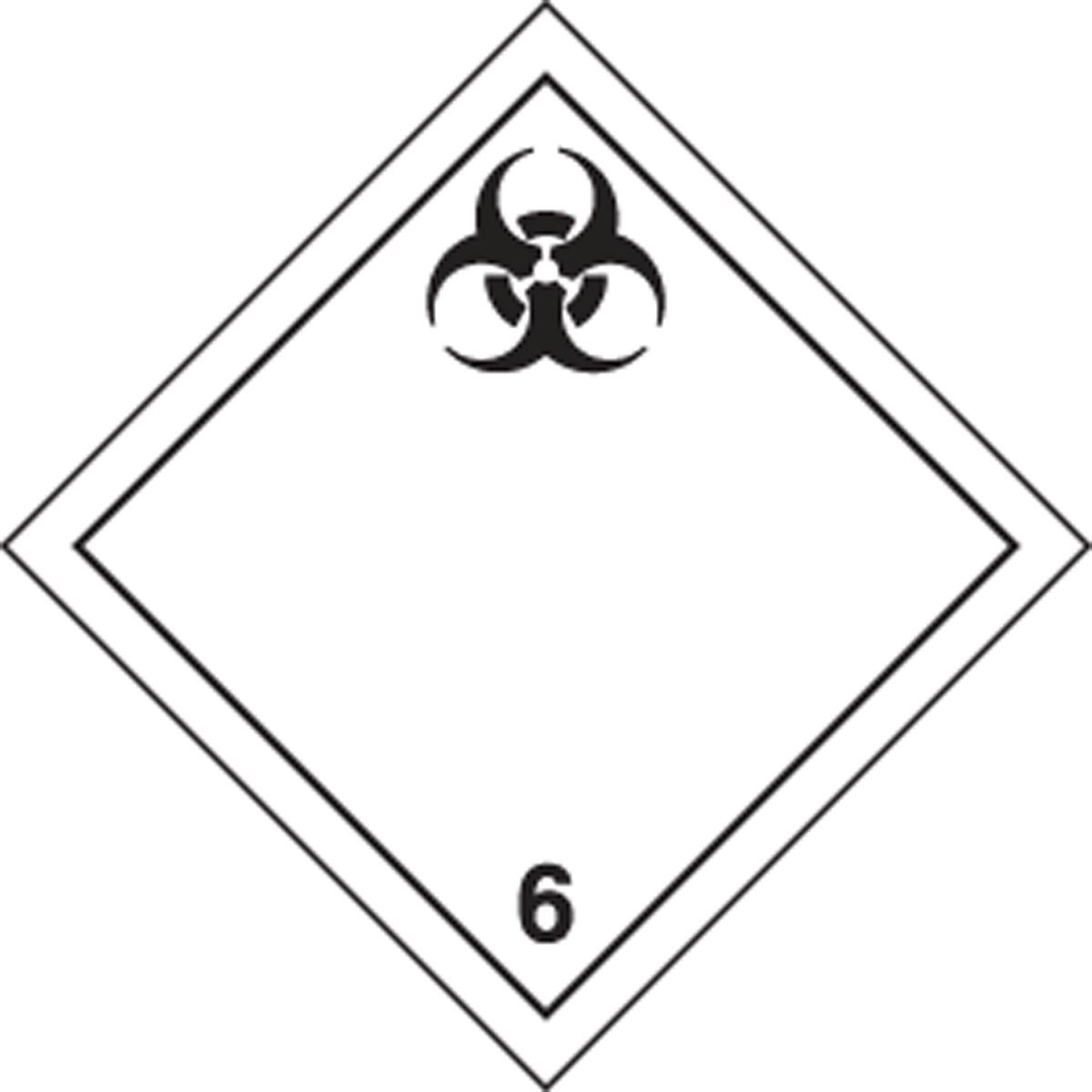 TDG PLACARD - TRANSPORTATION OF DANGEROUS GOODS