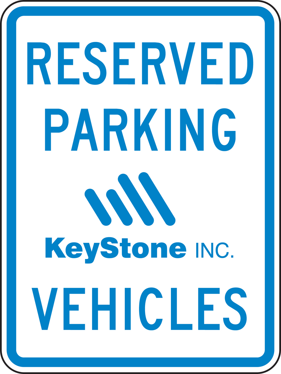 Custom Recycle-Grade Facility Traffic Signs