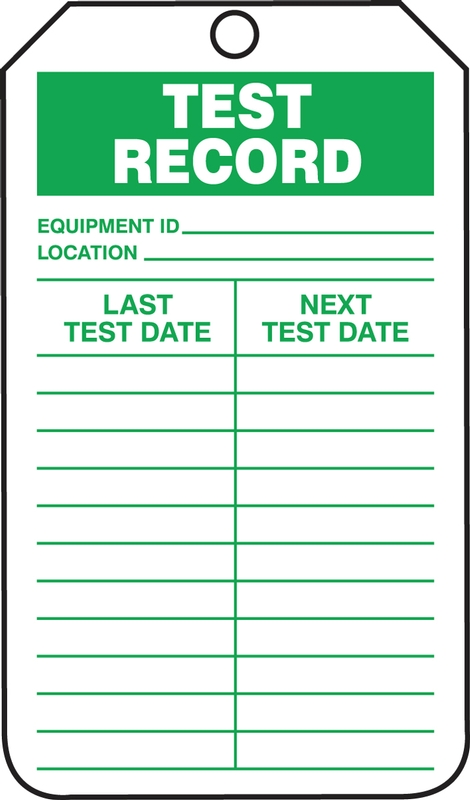 TEST RECORD