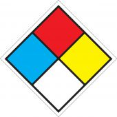 - NFPA Safety Placard: 6