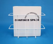 - Confined Space Permits: Binder & Rack