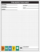- TPM Inspection Sheet Pad