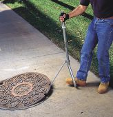 - Confined Space Barriers: Manhole Lid Lifter