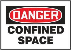 - OSHA Danger Magnetic Safety Sign: Danger Confined Space Sign